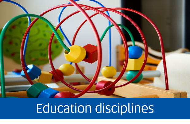 Navigate to Education Disciplines page