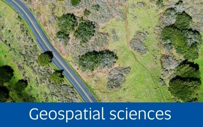 Navigate to Geospatial sciences page