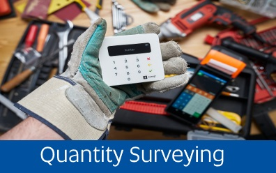 Navigate to Quantity Surveying page