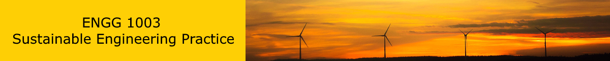 Sustainable engineering practice banner image