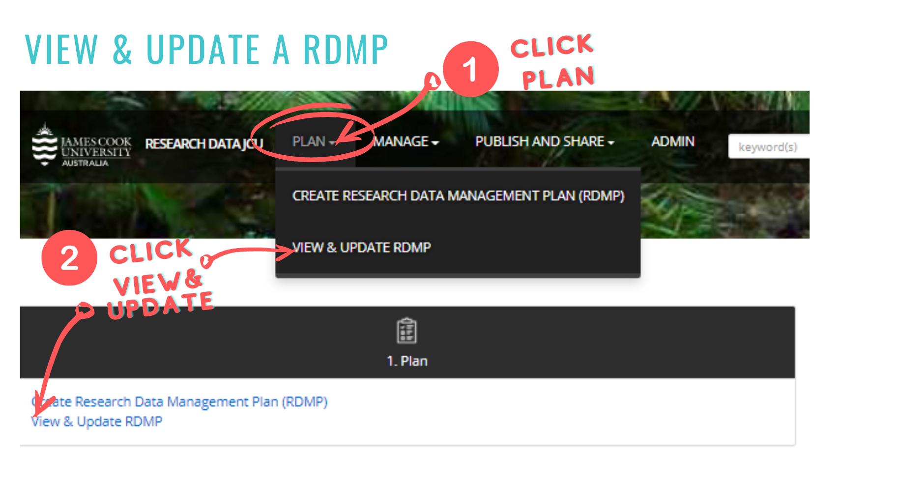 update plan screenshot
