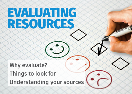 Evaluating resources