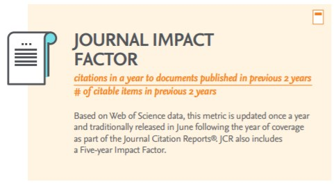 How the impact factor is calculated