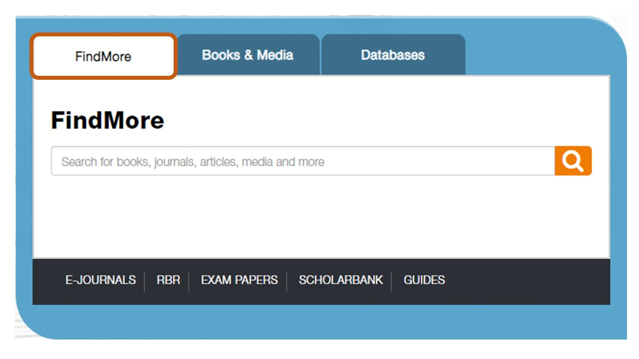 findmore - library search engine