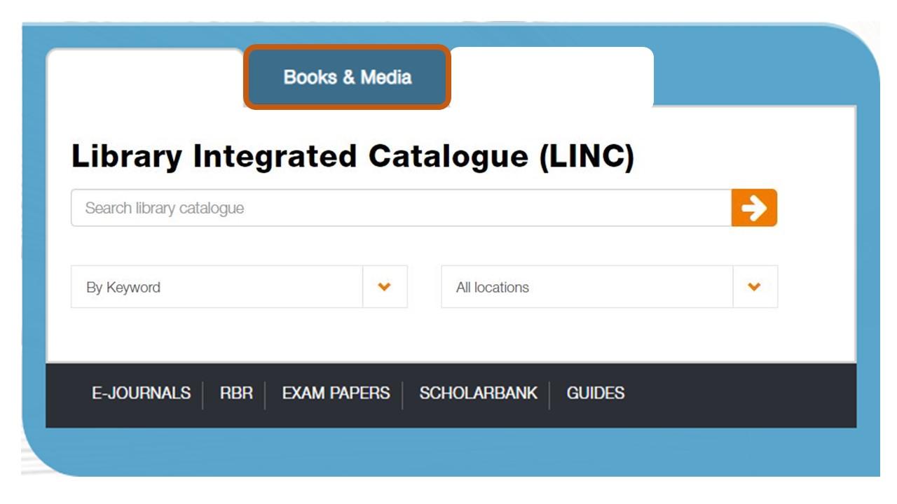 LINC catalogue