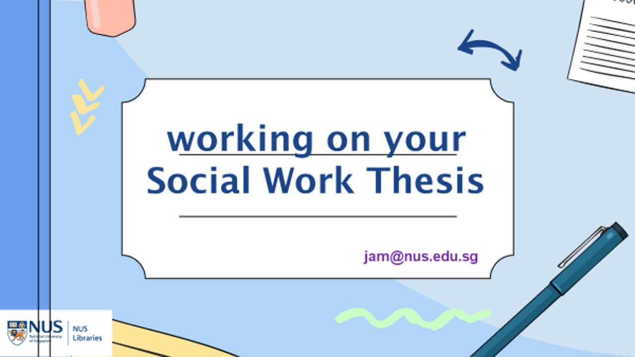 social work hons thesis cover