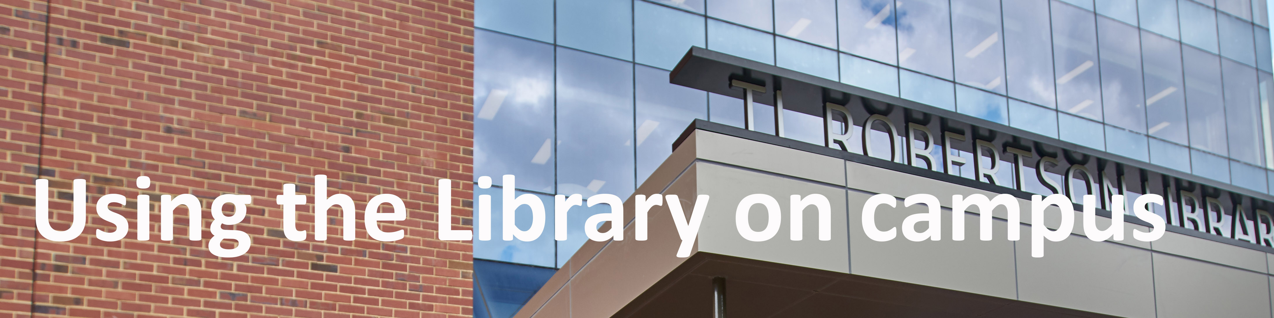 Find out about using the Library on campus