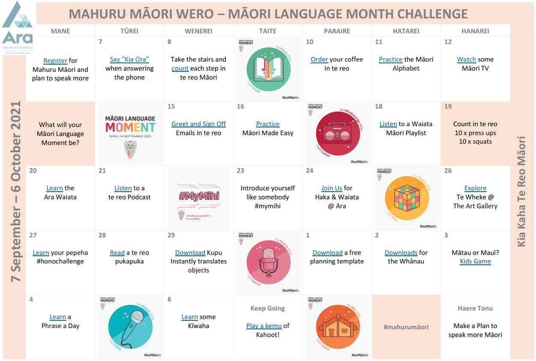 Mahuru Maori wero or challenge