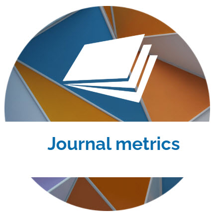 landing page image with the words Journal metrics