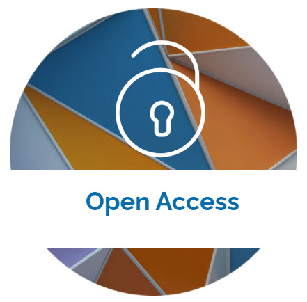 landing page image with the words Open Access