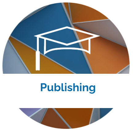 landing page image with the word Publishing