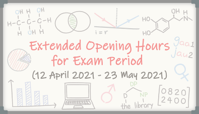 Extended Opening Hours for Learning Garden and Learning Commons during the Exam Period