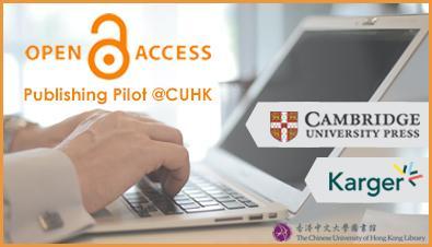Open Access: OA Publishing Pilot @CUHK