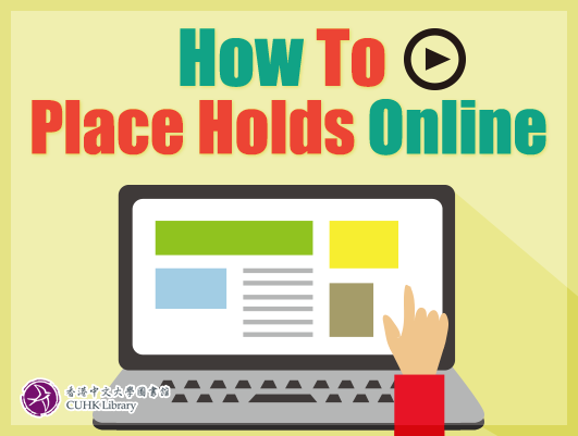 How to Place Holds Online