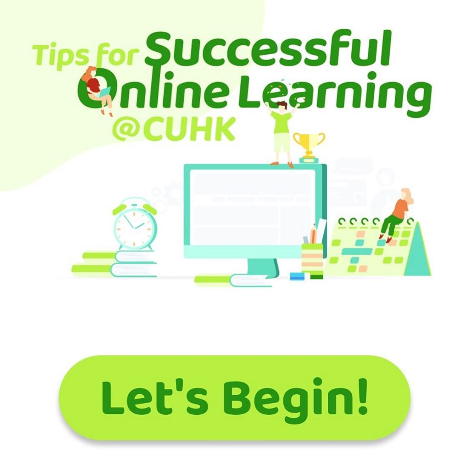 Tips for Successful Online Learning @CUHK