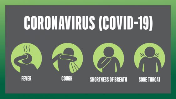 Symptoms poster from Australian government COVID-19 resources page