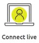 Connect live icon