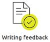 Writing feedback icon