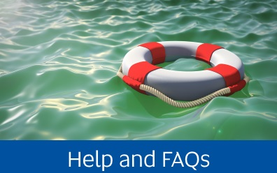 Navigate to the Help and Frequently Asked Questions page