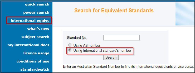Can't find a standard? - Standards - All guides at RMIT