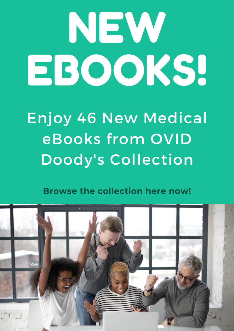 New Doody's eBooks available.