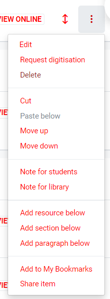 Adding notes for the library and students