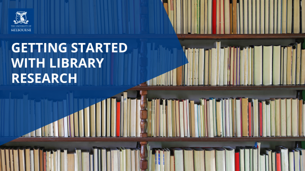 Getting Started with Library Research