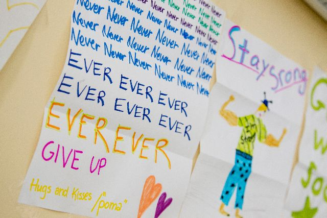 Never ever give up stay strong