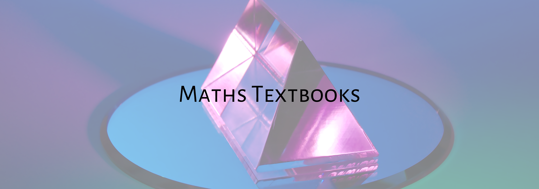 Maths textbooks banner