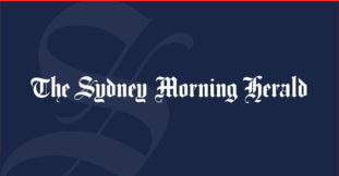 The Sydney Morning Herald newspaper logo