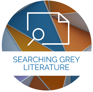 Searching grey literature icon