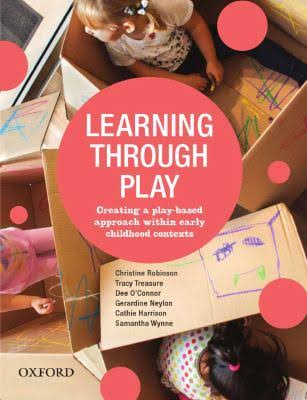 Learning through play book cover image