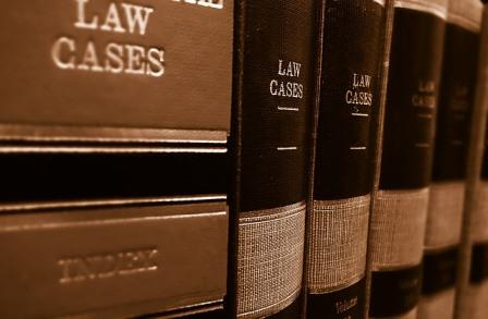 image of law cases books