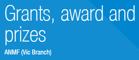ANMF Vic Branch Grants, awards and prizes
