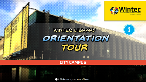 Click to take a virtual tour of the Wintec city library
