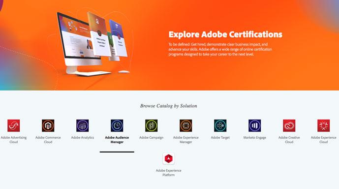 adobe certification accreditation scotch retrieved learning