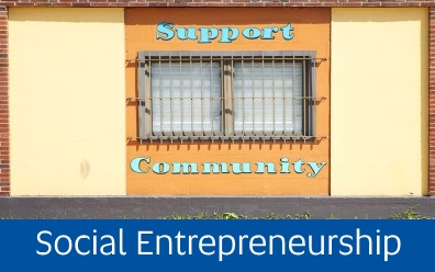 Navigate to Social Entrepreneurship page within this guide