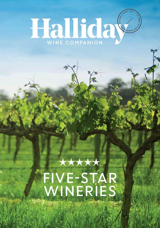 Halliday: five star wineries