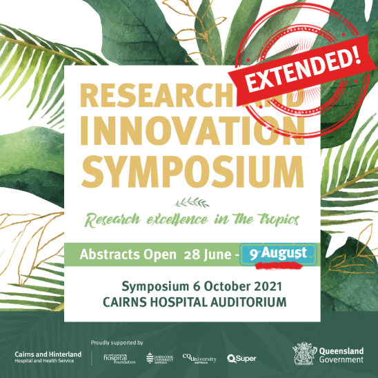 2021 abstracts submissions extended to 9 August