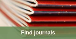 Find journals icon