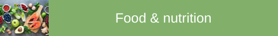 Food and nutrition subject icon