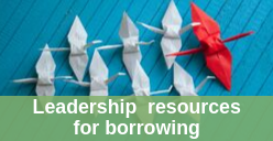 Leadership resources for borrowing icon