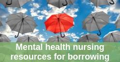 Mental Health Nursing resources for borrowing icon