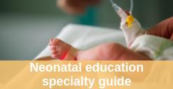 Neonatal education guide icon