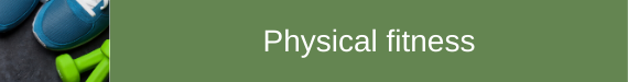 Physical fitness subject icon