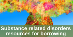 Substance related disorders resources for borrowing icon