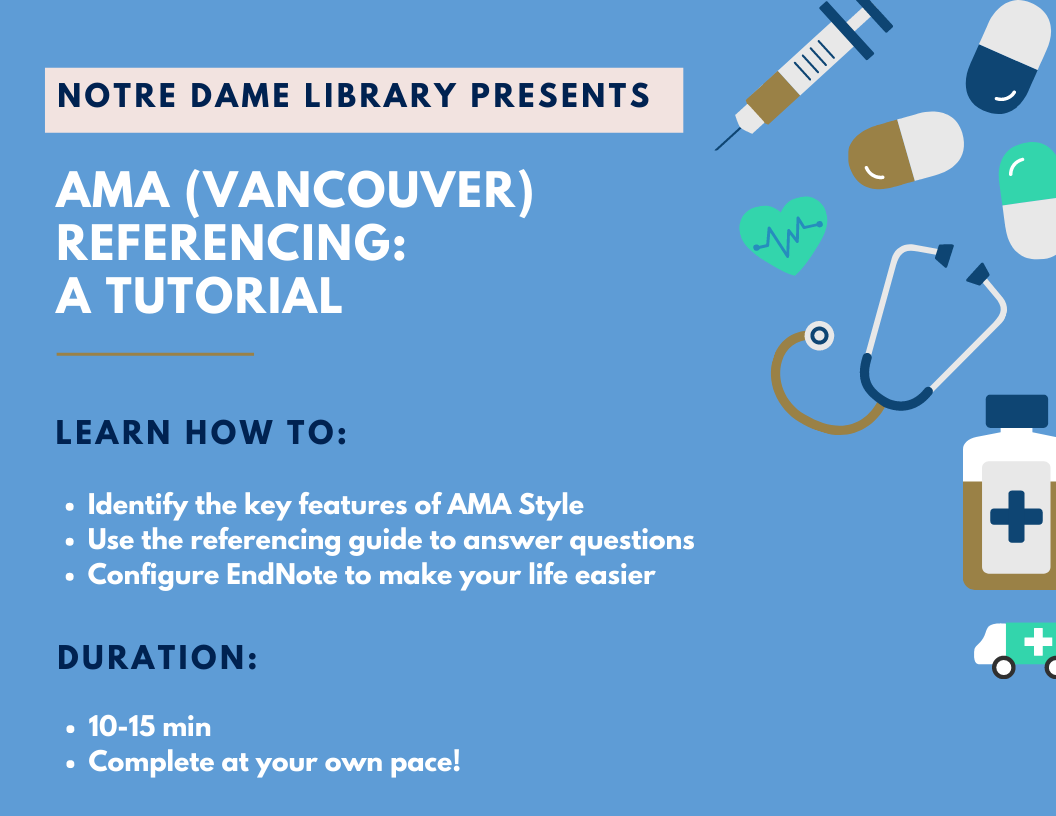 AMA referencing tutorial
