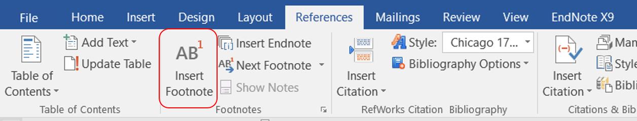 Windows_Insert footnote