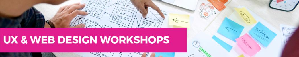 UX and web design workshops