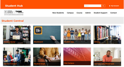 Student Central Screenshot